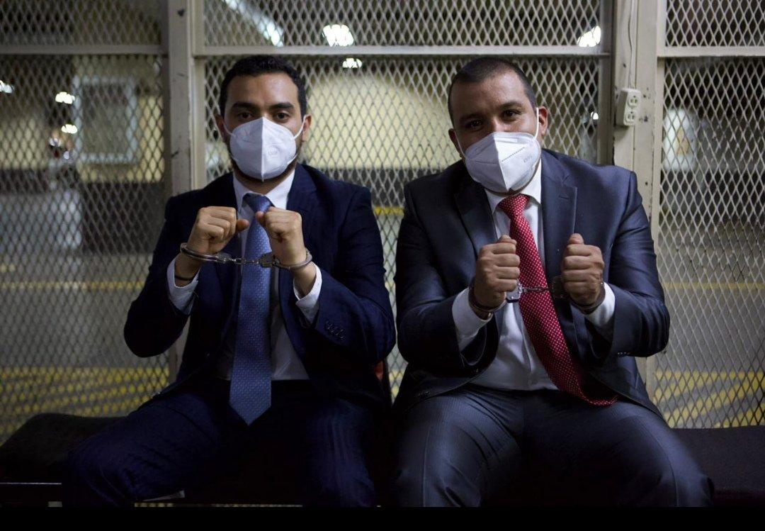 Aníbal Argüello y Juan Solórzano Foppa. Fuente: No-Ficción